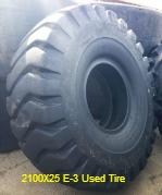 2100X25 E-3 Used Tire