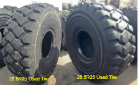 26.5R25 Used Tires