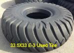33.5X3 E-3 Used Tire