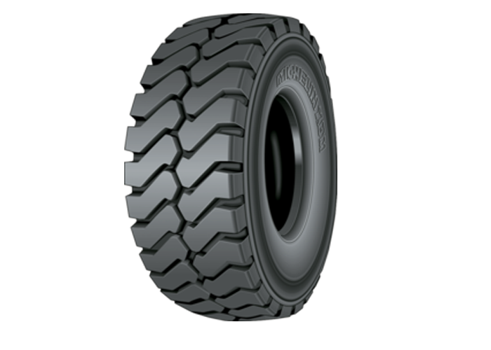 MICHELIN XDM - E4 tire for rigid dump trucks in 37.00R57, the best tire for applications needing both traction and resistance to abrasion