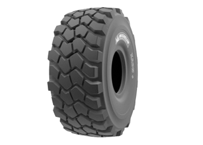 MICHELIN XADN the E3T transport tire for articulated dump trucks, the reference in the market