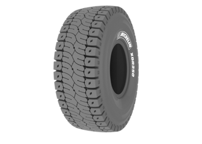Michelin XDR 250 for high-speed transport of ore over mine haul roads