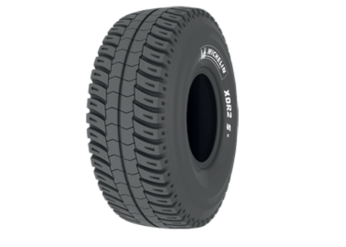 Michelin XDR2 S for high-speed transport of ore over mine haul roads
