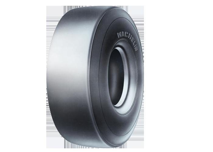 MICHELIN X LC a slick OTR radial tire for compactors, C1