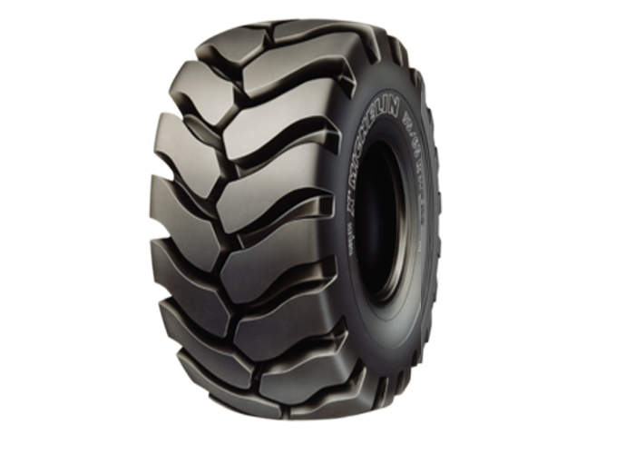 MICHELIN XLDD1 the OTR tire for large loaders operating in difficult conditions