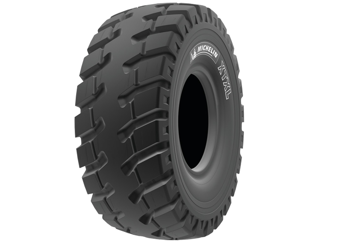 MICHELIN® XTXL gives all the benefits of MICHELIN OTR radial tire technology!