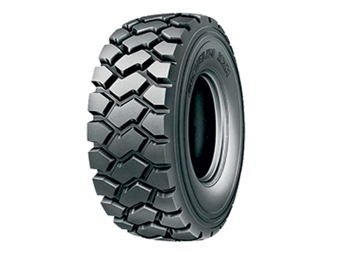 MICHELIN XZH the robust OTR tire for your dump truck for off-road use